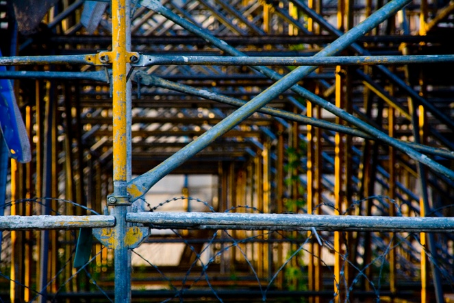 """Scaffold"" © Andreas Levers, 2007. CC BY-NC 2.0"