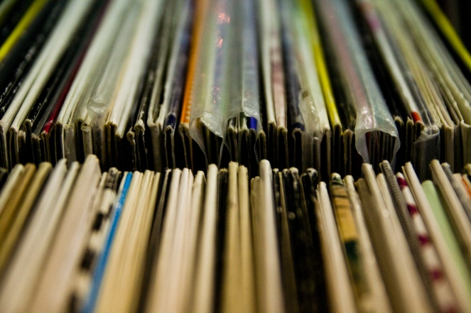 """vinyls"" © Lubomir Panak, 2009. CC BY-NC-SA 2.0."