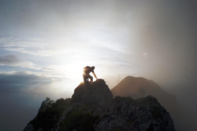 """climbing."" © Michael Pollak, 2013. CC BY 2.0."