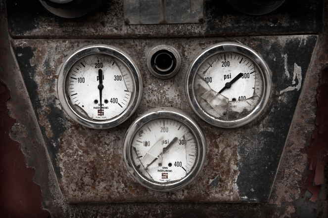 """Broken Gauges"" © Dave Wilson, 2011. CC BY-NC-ND 2.0."